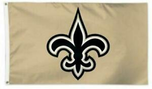 Saints 3X5 Man Cave Flag New Orleans 3 x 5 Banner American Football USA Who Dat