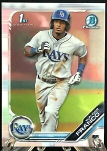 Wander Franco 2019 1st Bowman Chrome Prospects Rookie Card RC Tampa Bay Rays