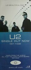 "U2 ""Beautiful Day-Single Out Now"" Australian Promo Poster -Group Shot In Airport"