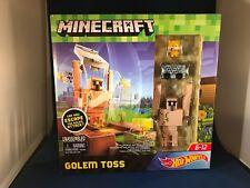 2018 Hot Wheels Minecraft Golem Toss Play Set - BRAND NEW & UNOPENED!