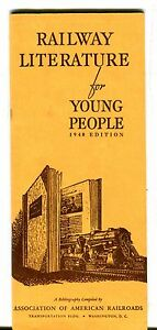 Railway Literature For Young People Brochure 1940 062717jh