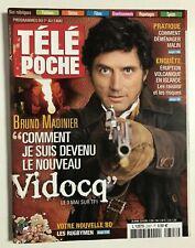 ►TELE POCHE 2307/2010 - VIDOCQ - BRUNO MADINIER - DAVID GUETTA - GEORGE SAND
