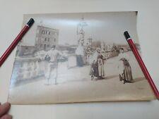 Fine XIX Foto Carlo Naya Albumina Chioggia Costumi Locali Bellissima