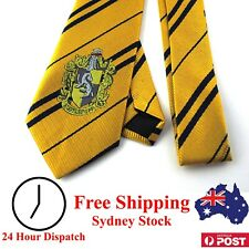 Harry Potter Tie Hufflepuff With House Emblem - Kid Dress Up Children Cosplay