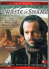 Waste Of Shame DVD Rupert Graves, Indira Varma, BBC   William Shakespeare