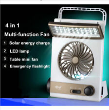 Speed Fan Portable solar 220V electric charging fan 1200mA battery rechargeable