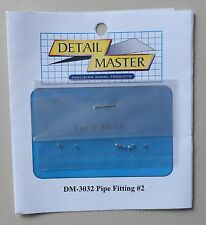 "PIPE FITTING #2 .025"" 1:24 1:25 DETAIL MASTER CAR MODEL ACCESSORY 3032"