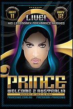 Prince : Australian Concert Tour Poster