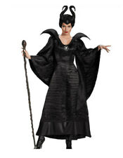 Maleficent Fancy Dress Devil Costume Deluxe Evil Queen Wicked Costume Halloween
