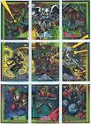 1993 Skybox Marvel Universe IV X-men Base Card You Pick Finish Your Set 1-90