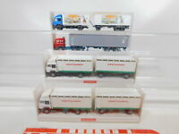 CA238-0,5# 4x Wiking 1:87/H0 LKW Iveco: 565 01 31 + 29 475 + 24 523, TOP+OVP