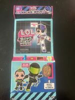 New LOL Surprise Boys Arcade Heroes NEW IN HAND SEALED!