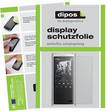 6x Sony NW-ZX300 (MP3-Player) Film de protection d'écran protecteur antireflet