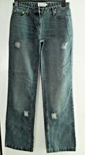 WOMENS/GIRLS DISTRESSED LOOK JEANS SIZE 12 NEW
