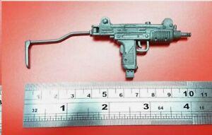 1/6 Scale G.I JOE Snake Eyes 's UZI submachine gun weapon for 12 inch figure