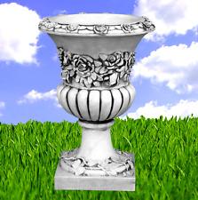 Pflanzschale Rose Vase Steinschale Blumenschale Dekovase Steinkunst BLACKFORM