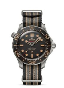 Brand New Omega Seamaster Diver 007 Edition 42mm 'No Time to Die' Men's Watch