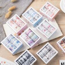 10pcs Cute Cartoon Animal Washi Tape Kawaii Paper Masking Scrapbooking Stickers