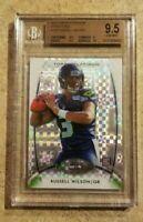 2012 RUSSELL WILSON NFL RC Topps Platinum #138 XFractor BGS 9.5  Gem refractor