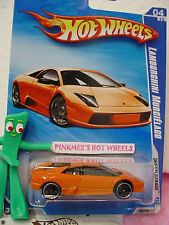Rare 2009 i Hot Wheels LAMBORGHINI MURCIELAGO #150/166❊Orange ❊Dream Garage