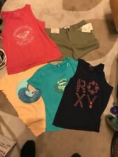 Girls Surfwear 4 Tops And Fat Face Shorts Age 11-13