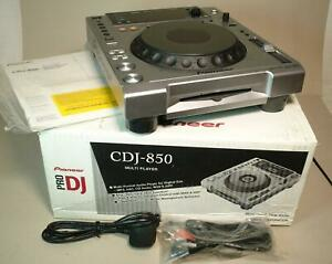 Pioneer CDJ-850 DJ CD / MP3 Multi Player Deck - Boxed – Intermittent Fault