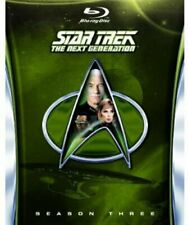 Star Trek The Next Generation - Season 3 Blu-ray Region 1989 DVD