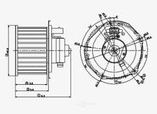HVAC Blower Motor fits 1996-2001 Oldsmobile Bravada  GLOBAL PARTS