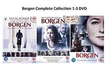 Borgen Trilogy Complete Collection 1-3 DVD All Seasons 1 2 3 UK Release R2 NEW