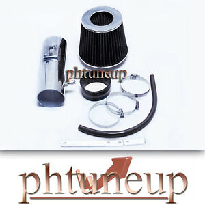BLACK AIR INTAKE FIT 12-17 CHEVY TRAVERSE GMC ACADIA BUICK ENCLAVE 3.6L