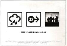 "18/3/95PGN50 ADVERT 7X11"" EAST 17 : LET IT RAIN"