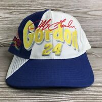 JEFF GORDON #24 DUPONT RACING COLOR BLOCK SNAPBACK NASCAR RACING HAT CAP