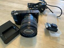 Samsung NX210 20.3MP Digital Camera + 18-55mm Lens Black VGC (EV-NX210ZBSBUS)