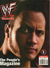 WWF Magazine January 1999 The Rock, Chyna VG 050616DBE