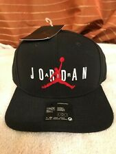 Nike air Jordan jumpman snapback mens cap brand new with tags one size black