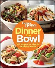 DINNER IN A BOWL - BETTER HOMES AND GARDENS BOOKS (PAPERBACK) NEW