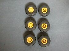 Promotex/Herpa #5439 - Loader Tires And Hubs, 6 pieces. 1/87th scale