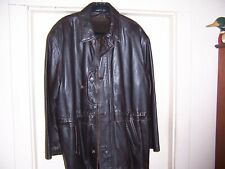 IL PERSEO LAMBSKIN LEATHER JACKET 52 MADE IN ITALY