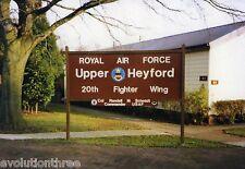 RAF UPPER HEYFORD POSTCARD