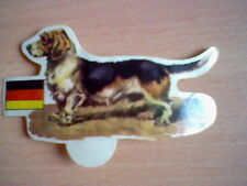 DACHSHUND 70´S SPANISH PROMOTIONAL CARD DOGS PANRICO UNSTICKED ORIGINAL