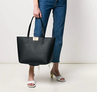 Furla MIMI Large Tote in Nero MSRP$398 made in Italy