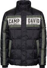 Camp David Original Herren Winter Jacke gesteppt/Logo/Neu mit Etikett-Gr-M