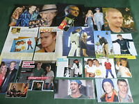 JUSTIN TIMBERLAKE   - POP MUSIC - CLIPPINGS /CUTTINGS PACK