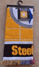 Pittsburgh Steelers Triple Woven Baby Throw 36 x 46 NFL Official