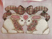 Bunny Talk Cross Stitch Pattern Chart from magazine Rabbits Amimals Alma Lynne