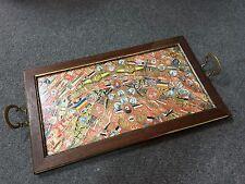 Unique plateau en bague de cigare tableau à l'effigie de divers pays cigar band