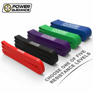 POWER GUIDANCE pull up assist band Latex Resistance Streching Band exercise band