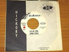 """PROMO POP 45 RPM - FRANK IFIELD - HICKORY 1550 - """"IT'S MY TIME"""""""