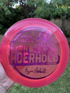 Discraft Nuke Tour Series Ezra Aderhold Limited Edition 173-174g Sparkles & Pink
