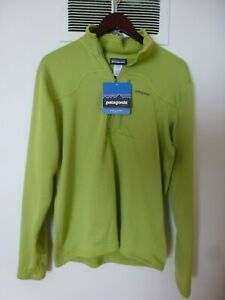 NWT Patagonia R1 Alpine Climbing Pullover size M Slim Fit Light Gecko Green $119